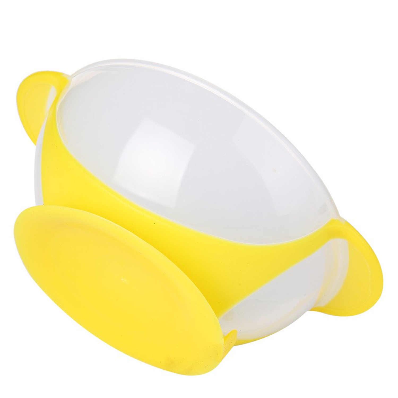 Безопасная присоска обучающая тарелка для кормления с ложка с датчиком температуры вилка для малышей