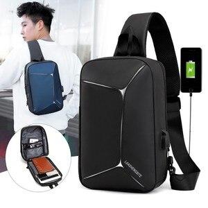 New USB Backpack Shoulder Moch