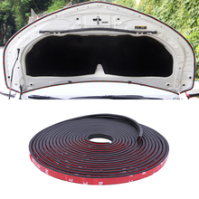 16m 25m Car Door Protector Seal Bumper Anti collision Trips Rubber Edge Strips Auto Styling Mouldings Trim Sticker