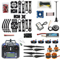 F14892-B DIY RC Drone Quadrocopter X4M360L Frame Kit with GPS APM 2.8 RX TX Battery and Charger Adapter RTF 4axis Aircraft Toy