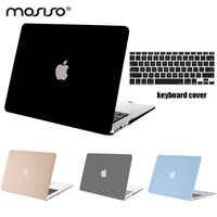 Funda dura Mosiso para Macbook Air 13 pulgadas 2014 2015 2016 2017 2018 mate funda coque para Mac Air 11 + funda de teclado de silicona