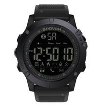 SPOVAN Digital Watch Men's Waterproof Sport Clock Men Barome