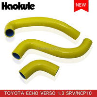 Performance Radiator Silicone Hose Kits for TOYOTA ECHO VERSO 1.3/NCP BLUE,RED,YELLOW