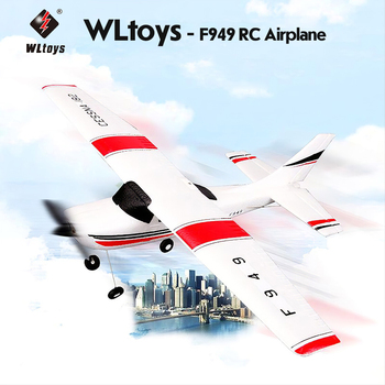 Wltoys F949 2.4G 3Ch RC Airplane Fixed Wing Plane Outdoor Drone Electirc Aerial Aircraft RC Model Flight Avion RC Toy Gift