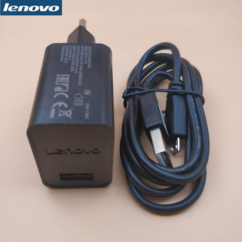 Original For LENOVO P1/P2/S850/A2010/P70/Shot/A536/K5/K3/S60/S90 NOTE Vibe shot Mobile phone Charger adapter + micro USB Cable