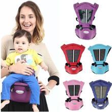 738e79cf2c42 Recién Nacido bebé cintura heces caminantes Honda de mochila Hip cinturón  frente a pecho ergonómico de