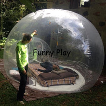 Outdoor Crystal Bubble Tent show room tent for advertising crystal show