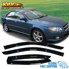 Подходит для 05-06 Subaru Outback Legacy акриловые оконные козырьки 4 шт. набор глобальная