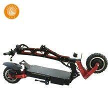 LOVELION folding Adult Electric longboard big power Scooter with 3200W electrical motor cross-country adults bicycle Scooters