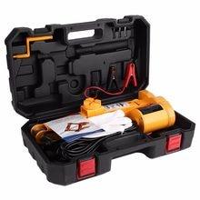 Cric de levage électrique automatique pour voiture, 2 tonnes, 12V DC, équipement de Garage et d'urgence