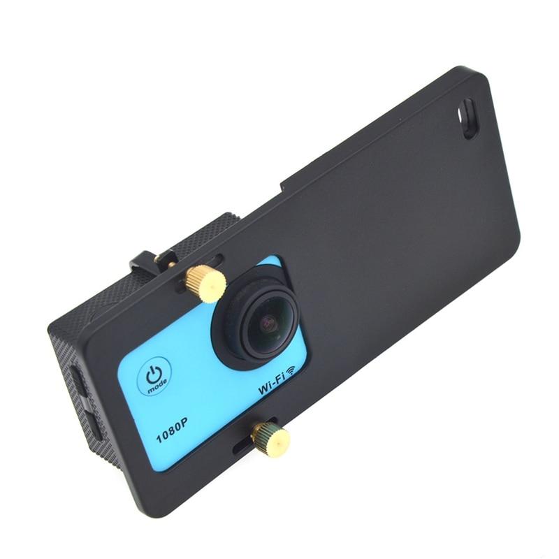Image 5 - Placa de montagem Adaptador Para Esportes de Tamanho Similar  Câmera do Smartphone Acessórios Cardan Handheld EstabilizadorCabeças de  tripé