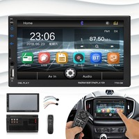 7 Inch MP5 High Definition Digital Capacitive Touch Screen 2 DIN In Dash Car MP5 Radio Video Stereo Player Bluetooth USB For Car