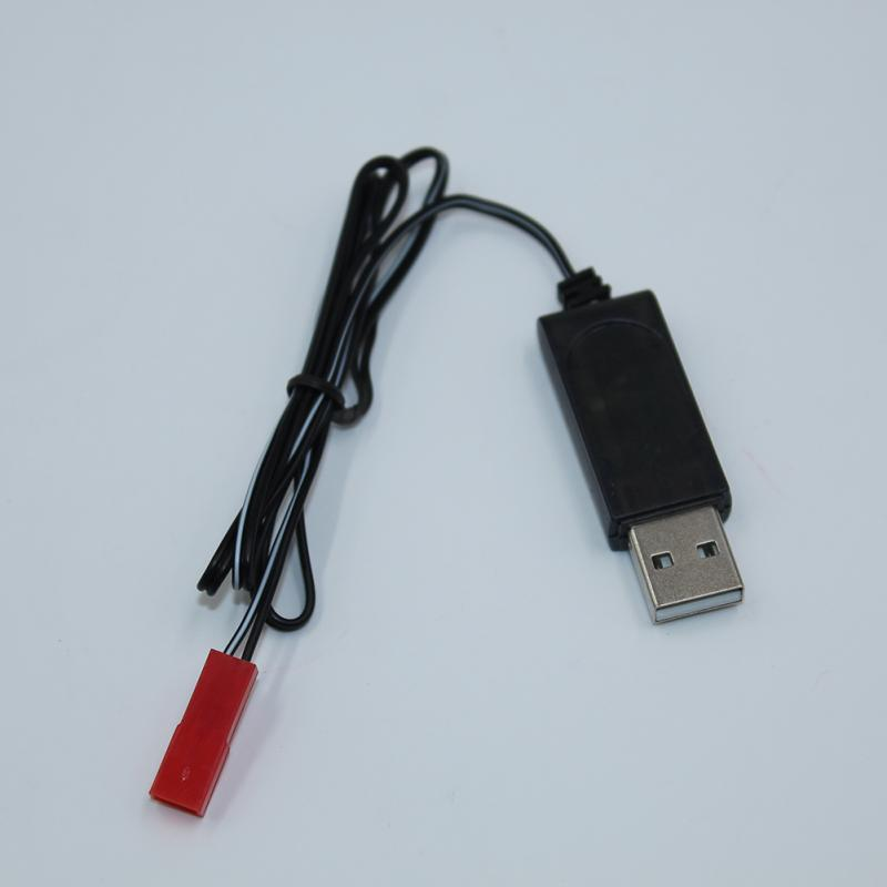 JST terminal // black 3.7V lithium battery charging cable USB charge cable