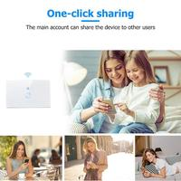 Sonoff T1 EU WiFi Wall Touch Light Switch 2 Gang Wireless App Remote Smart Home Controller Work with Alexa