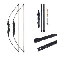 Scenic Bow And Arrow Straight Pull Bow Split Type Bow And Arrow Glass Fiber Sheet Outdoor