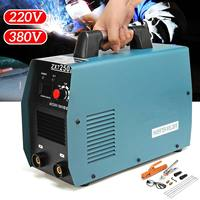 Dual Voltage 220/380V 20 250A Handheld Mini IGBT Inverter Welding Machine Electric Digital Arc Welders Inverter Machine Tool