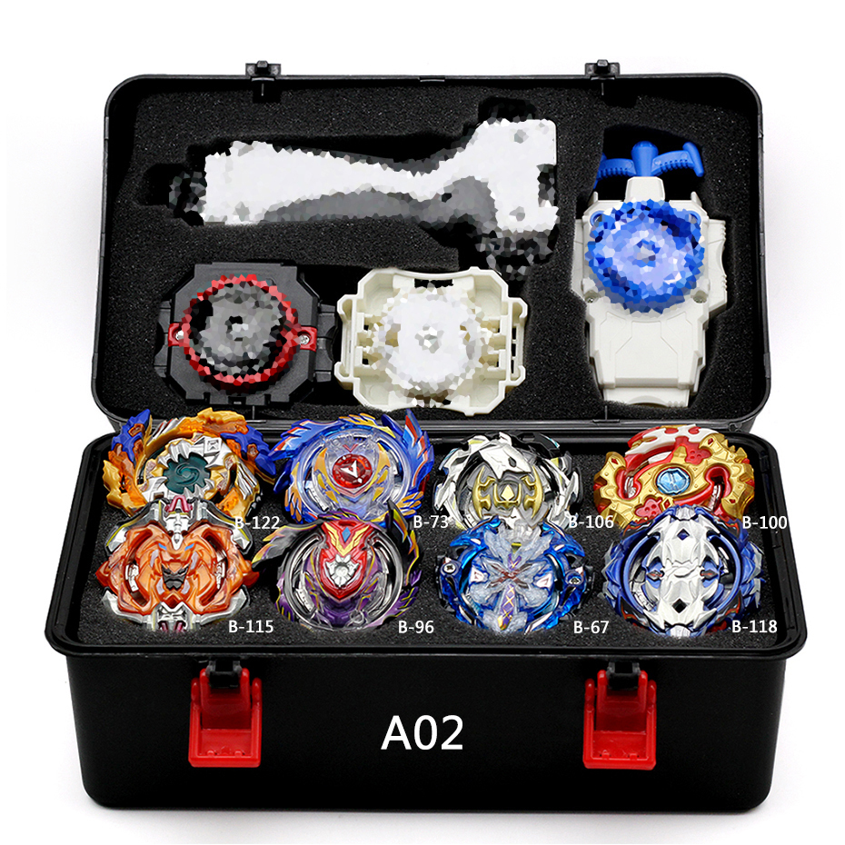 Combination Beyblade Burst Set Toys Beyblades Arena Bayblade Metal Fusion 4D With Launcher Spinning Top Bey Blade Blades Toys