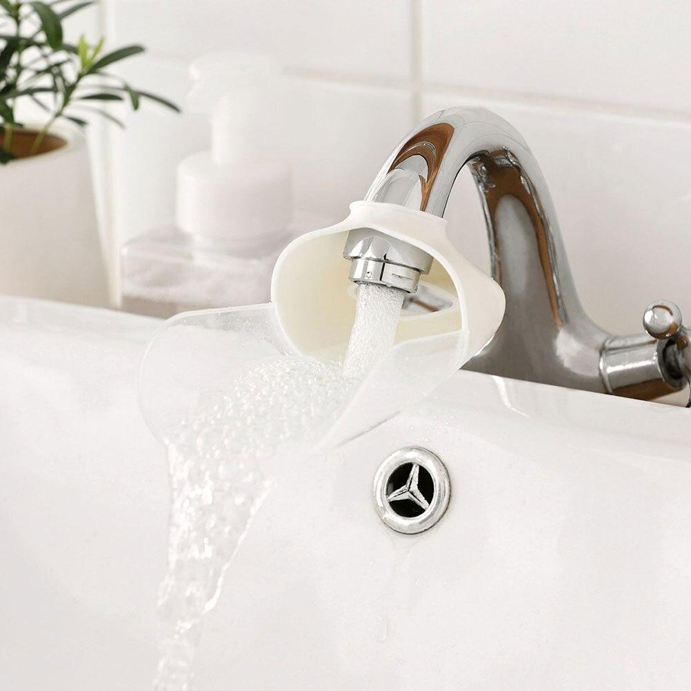 Honig 2 Stücke Wasserhahn Extender Nette Kreative Praktische Waschbecken Griff Extender Waschen Helfer Auslauf Extender Für Kinder Baby Kleinkinder