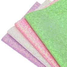 A4 PU Glitter Stof DIY PU Leer Synthetisch Leer Glanzende Stof Voor Naaien  Kleding Accessoires Drop d1ace064cfeb