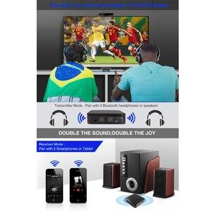 Image 4 - جهاز إرسال صوتي لاسلكي aptx ، مستقبل صوت 3.5 مللي متر ، HD ، بلوتوث 5.0 ، CSR8675 ، محول تلقائي للتلفزيون ، السيارة ، aptX ، HD LL ، زمن انتقال منخفض