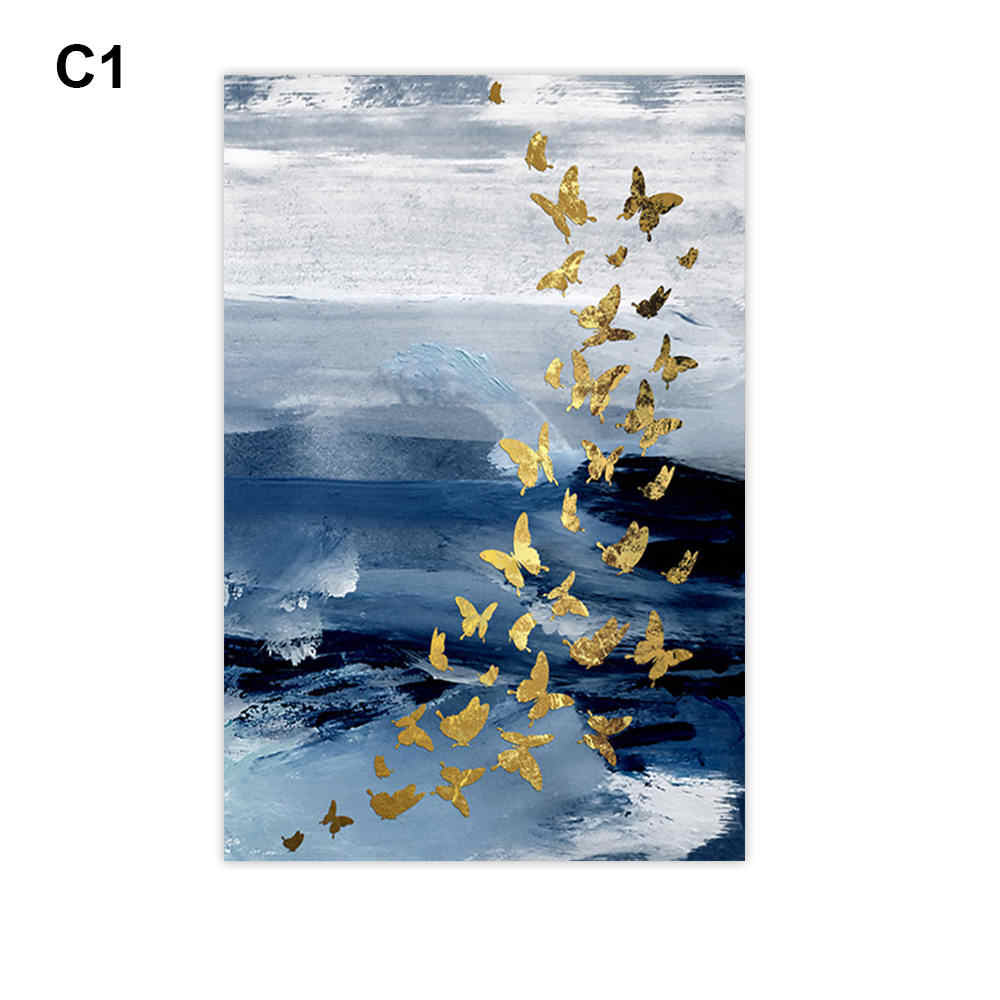 Simple European Abstract Paintings  Modern Pattern Decorative Painting Living Room Bedroom Prints Decorative Painting