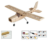 S1601 Balsa Wood RC Airplane Dancing Hobby 150 Remote Control Unassembled KIT Version Flying Model DIY Toys