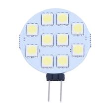 цена на 5 x G4 Pure White 10 5050 SMD LED Marine Boat Spot Light Lamp Bulb DC 12V