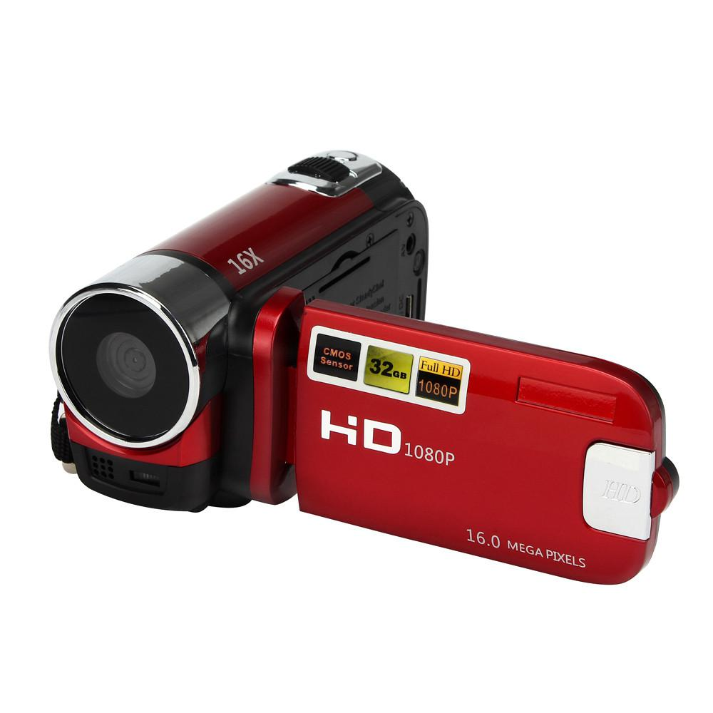 EastVita HD 1080P 16M 16X Digital Zoom Video Camcorder TPT LCD Camera DV Home Camera r20 image