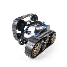 Yundi 666-888 Child And Man Wireless Black Control Rc Stunt Tank 360 ° Rotation Car with LED Light Toys Music Children's Gift(China)