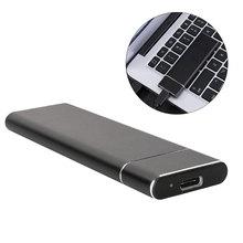 цена на USB 3.1 to M.2 NGFF SSD Mobile Hard Disk Box Adapter Card External Enclosure Case for m2 SATA SSD USB 3.1