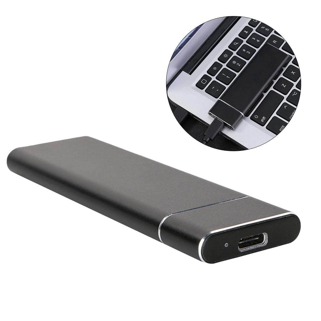 Usb 3.1 para m.2 ngff ssd caixa de disco rígido móvel adaptador cartão externo caixa gabinete para m2 sata ssd usb 3.1