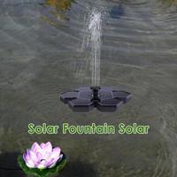 2.4W Solar Water Floating Pump Fountain Solar Solar Garden Artificial Pond Pool Garden Plant Watering Kit Solar Pump Kit Set