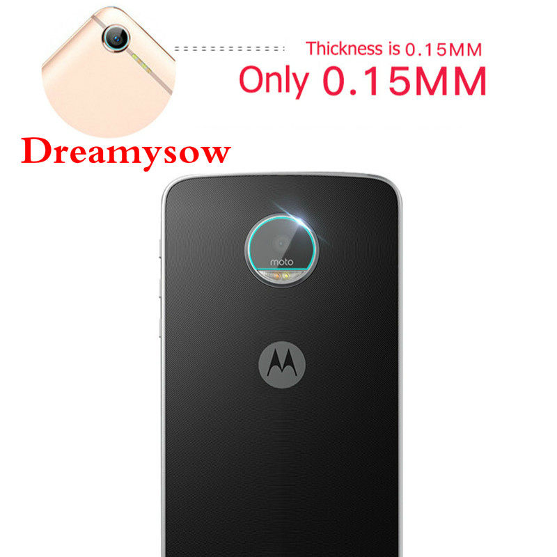High clearly Tempered Glass Screen Protector Back Rear Camera Lens For Motorola for Moto Z Z2 Z3 E5 Play G5 G5s G6 Plus X4
