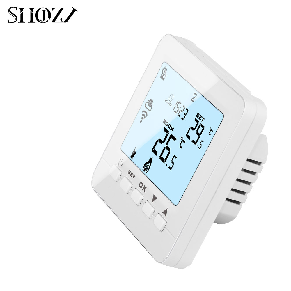 TUYA WiFi Smart Thermostat Temperature Controller for Electric floor  Heating /foil/film/cable mat Works with Alexa Google Home