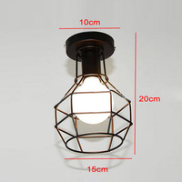 Modern Ceiling Pendant Light Lamp Shade Chandelier Shade Metal Iron Rack Fitting