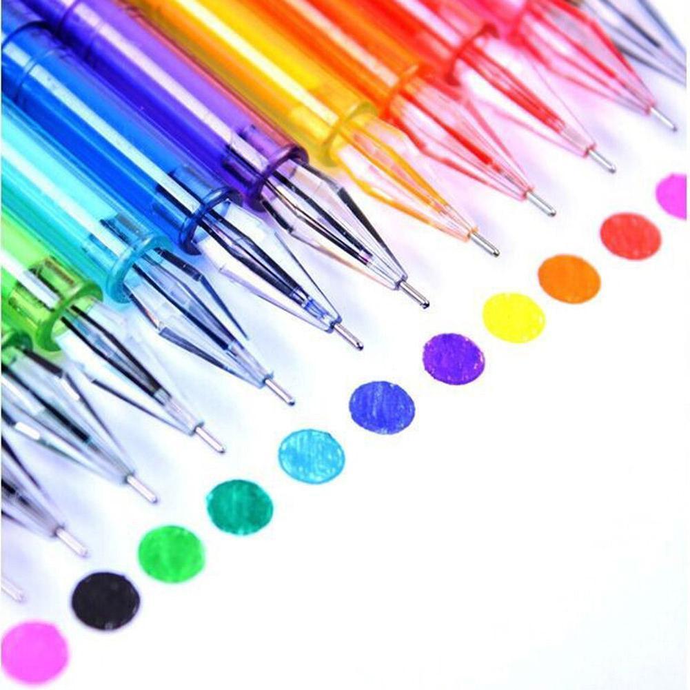 Картинки из цветных ручек