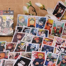 Naruto Anime Playing Cards Cosplay Gifts Deck Poker Set With Box Collection Editions
