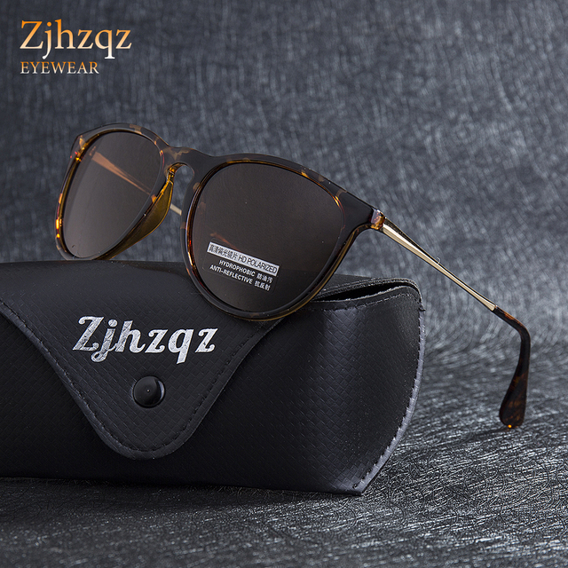896867f33d ZJHZQZ High Quality Pilot Sunglasses Women 2018 Small Round Brown Sun  Glasses for Men Brand Designer oculos Black Green Lens