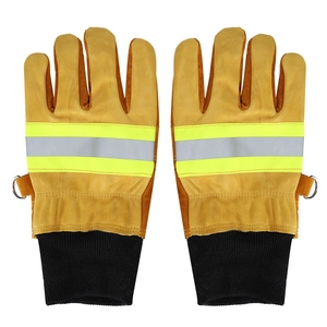Image 4 - Working Gloves Welding Gloves Anti steam Safety Gloves Pair of Cow Leather Gloves Fireproof Heat Resistant Safety Working Gloves