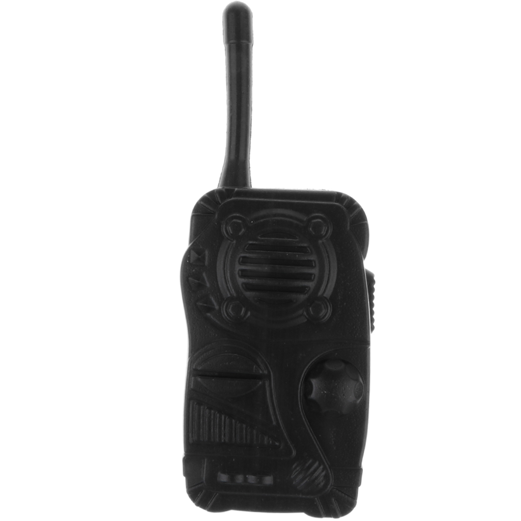 Armed Police Walkie Talkie Child Fancy Dress Costume Pretend Educational Toy
