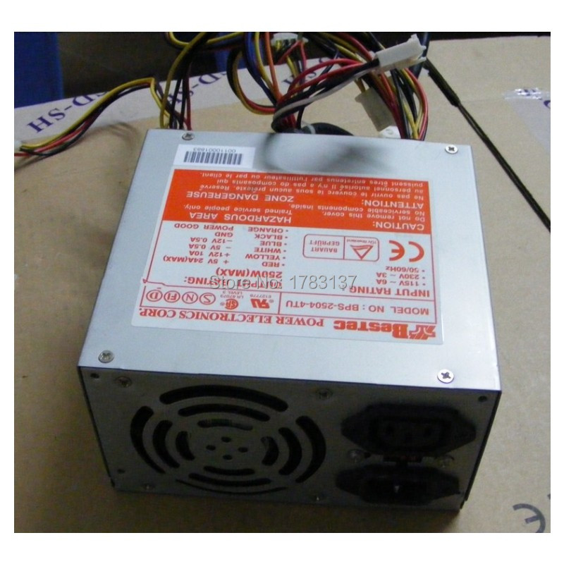 1PC Gebraucht power supply BPS-2504-4TU