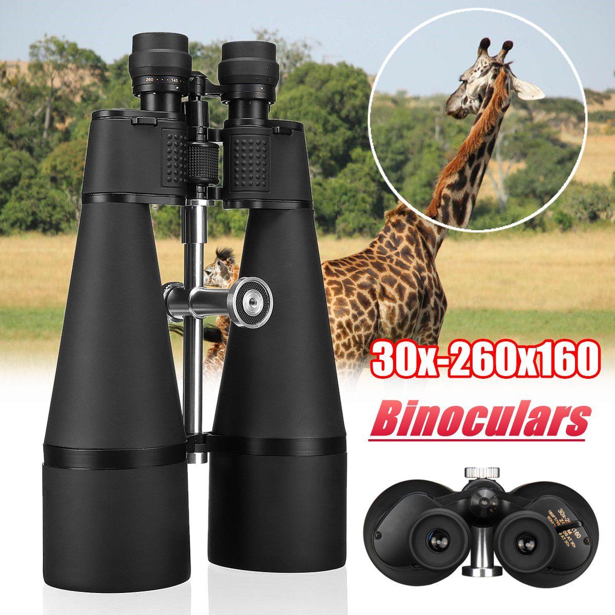 30x-260x160 Hohe Vergrößerung Long Range Zoom Optische Grün Objektiv Fernglas Mit Objektiv Tuch Ziel Durchmesser 160mm