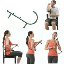 HOT Hook Massager Neck Self Muscle Pressure Stick Back Trigger Point Massage Rod
