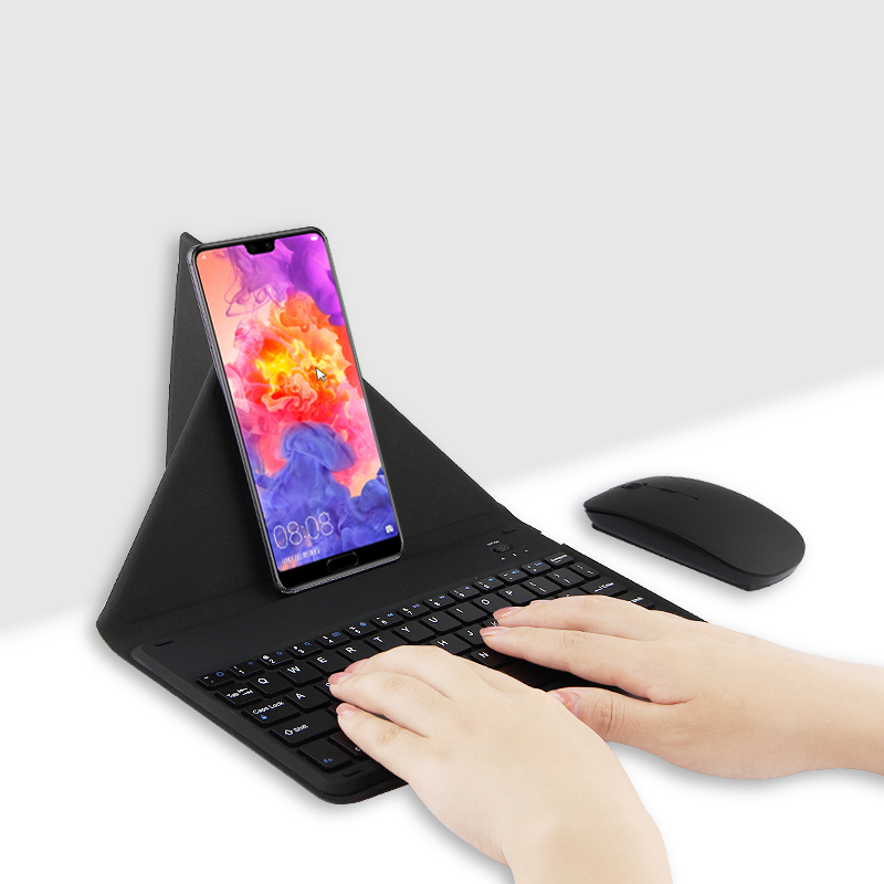 Bluetooth Keyboard For Huawei P Smart Honor 8X 9 10 8 Lite 6x 7X 6A 6C 7A 7C Pro Honor8/9/10 Mobile Phone Wireless Keyboard Case