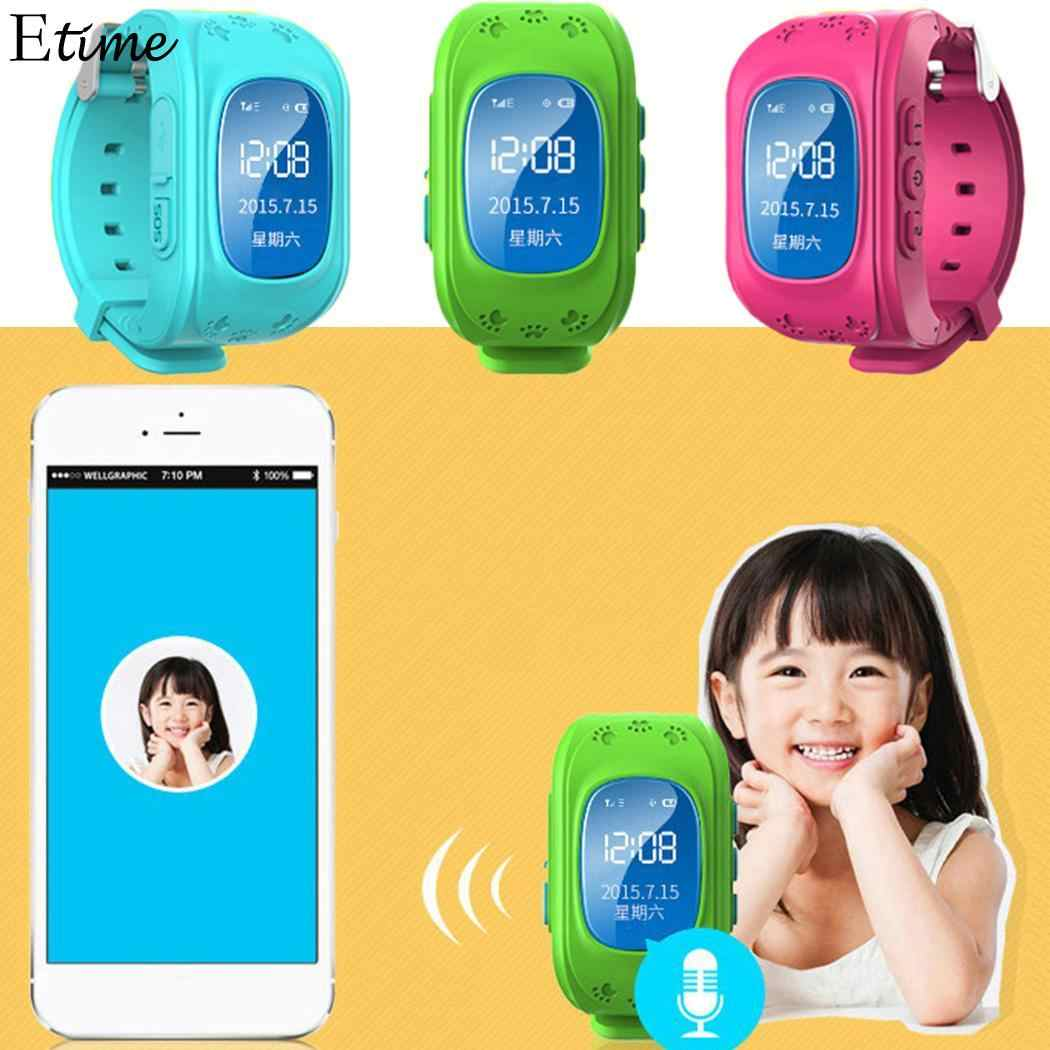 Children LBS Smart Watch Kids Watches Phone Sports Child Smart Safety Global Positioning Watch LCD Card