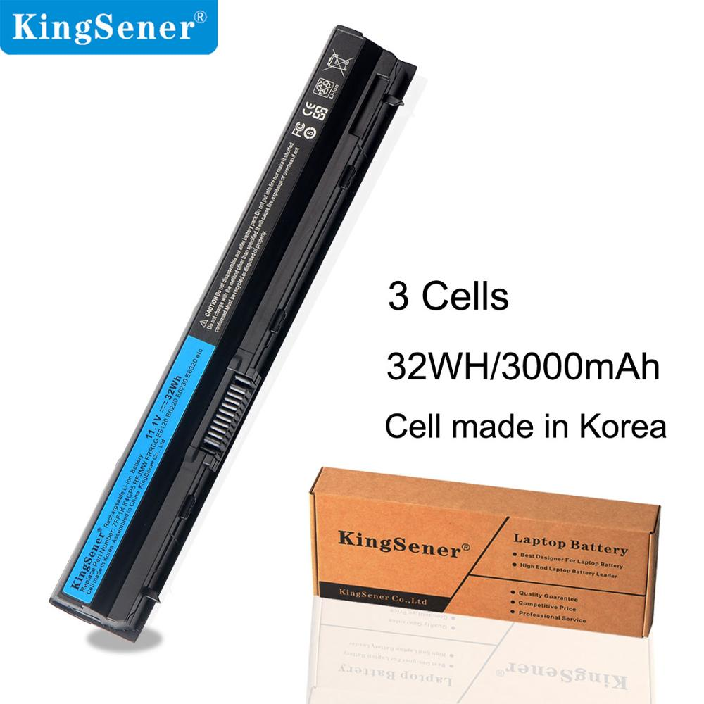 KingSener Korea Cell 11.1V 32WH 7FF1K Batería para laptop para DELL E6320 E6330 E6220 E6120 E6120 FRR0G KJ321 K4CP5 J79X4 P7VRH RFJMW