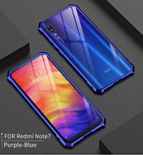 Xiaomi Redmi Note 7 Bumper Note7 Case Colored Ultra Thin Metal Frame Cover for Shell Protector