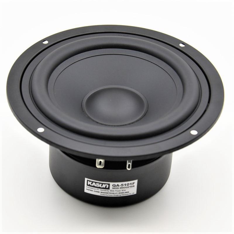 HIFIDIY LIVE HIFI 5 7 inch 5 Midbass Woofer speaker Unit 8OHM 90W Loudspeaker QA 5101F