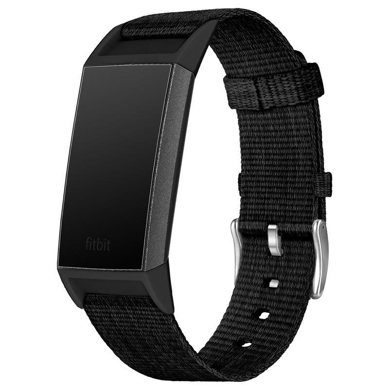 Para Charge Nailon Del Reloj Duradero Ejército De Militar Fitbit Correa 3 Balístico ZilOkuwPTX