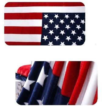 Flag Fleece Blankets 1
